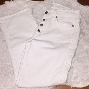 7 For All Mankind High Waisted Ankle Jeans Size 28